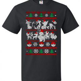 Eeveelution Christmas cute Ugly Christmas Sweater