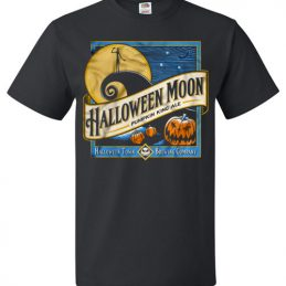 Halloween Moon Pumpkin King Ale Halloween Tee Shirt