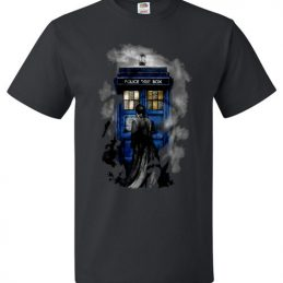 Halloween 10th Doctor Lost In The Mist Funny Halloween Tee Shirt