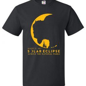 August 21, 2017 Solar Eclipse Across The National Parks T-Shirt