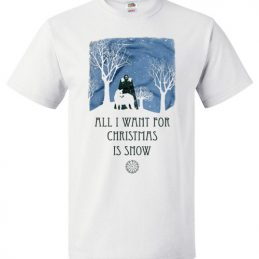 All I Want For Christmas Is Snow Christmas Sweater for GOT