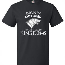 Born In October To Rule The Seven Kingdoms