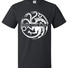 $18.95 - Game Of Thrones: Bend The Knee T-Shirt