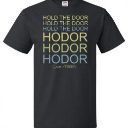 $18.95 - Game of Thrones Neon Hold the Door T-Shirt