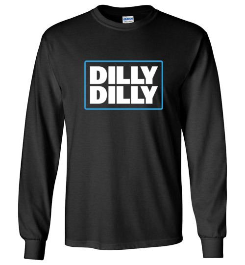 $23.95 - Bud Light Dilly Dilly Canvas Long Sleeve T-Shirt