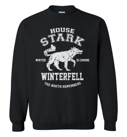 The North Remembers T Shirt Sweater Sweatshirt Cool Got Shirt Winterfell Winter is Coming Tee Shirt , Got Sweater Crewneck