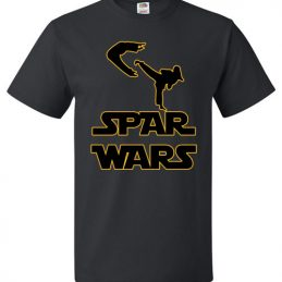 $18.95 - Spar Wars Taekwondo MMA Karate T-Shirt