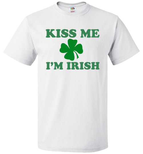 83684d2b Kiss Me I'm Irish Funny St. Patrick's Day T-Shirt, Hoodie, Ugly ...
