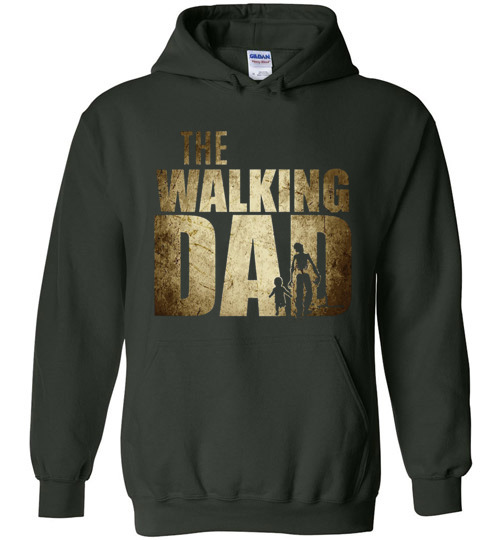 The Walking Dad Funny Walking Dead T Shirt Hoodie Ugly Christmas