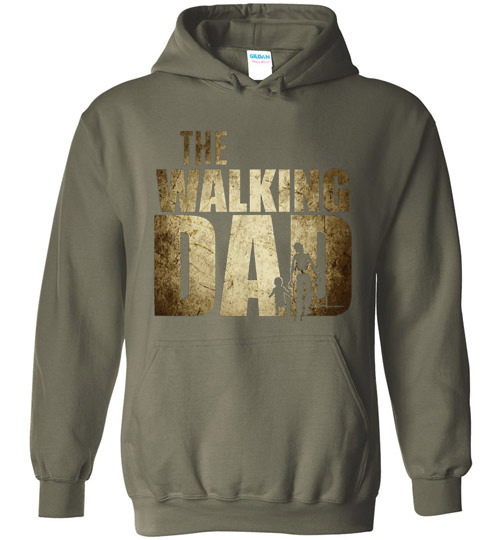 $32.95 - The Walking Dad Hoodie