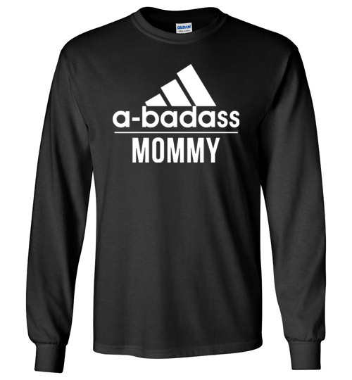 $23.95 - Abadass Mommy Funny Mother Canvas Long Sleeve T-Shirt