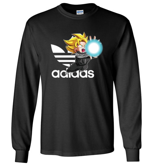 Dragonball: Songoku Kamehameha Adidas Funny Shirts