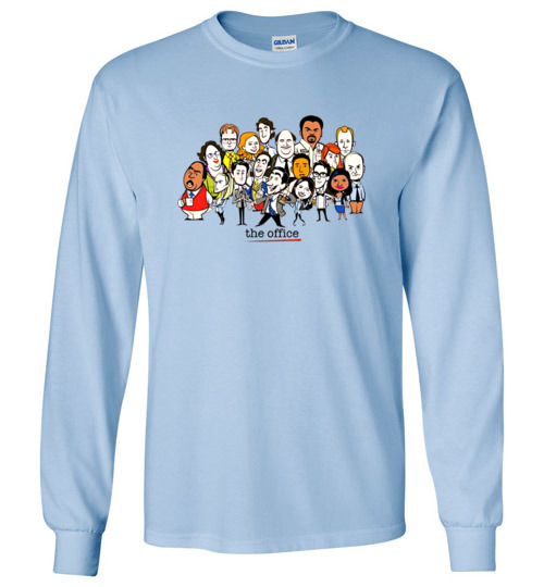 The Office Cartoons Character Funny Shirts