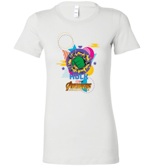 $19.95 - Marvel Avengers Infinity War Shirts: Hulk hand Lady T-Shirt