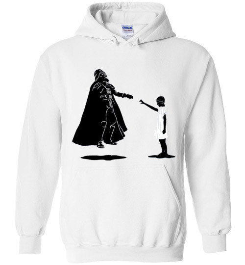 $32.95 - Stranger Things: Eleven vs Darth Vader funny Hoodie