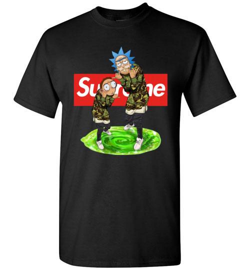 $18.95 - Rick and Morty Supreme funny T-Shirt