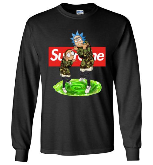 $23.95 - Rick and Morty Supreme funny Long Sleeve