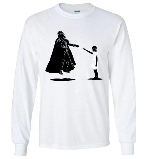 $23.95 - Stranger Things: Eleven vs Darth Vader funny Long Sleeve Shirt