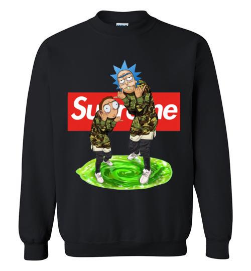 $29.95 - Rick and Morty Supreme funny Sweatshirt