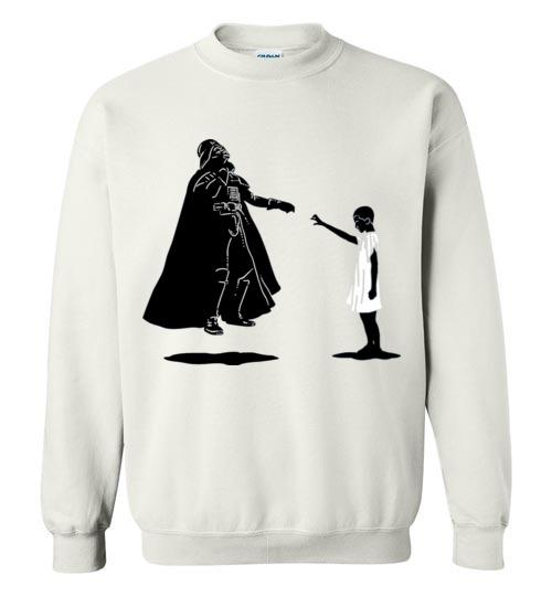 $29.95 - Stranger Things: Eleven vs Darth Vader funny Sweatshirt