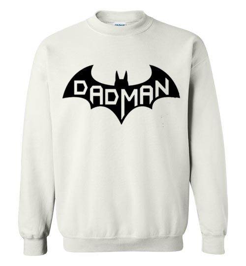 $29.95 - DadMan Funny Batman Shirts for Dad in Father's Day Sweatshirt