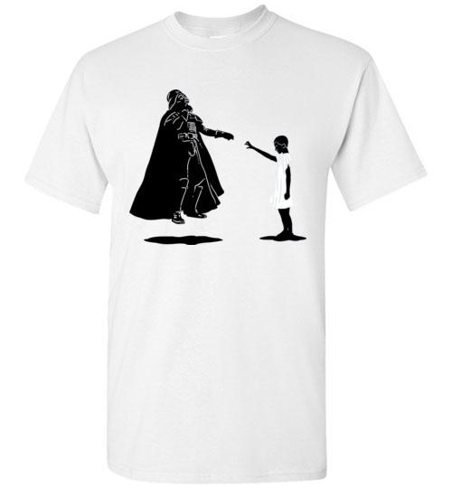 $18.95 - Stranger Things: Eleven vs Darth Vader funny T-Shirt