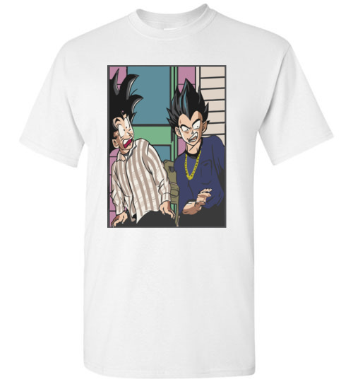 $18.95 - Funny Dragon balls Z shirts: Goku and Vegeta Friday The Movie T-Shirt