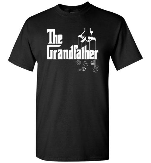 $18.95 - The Grandfather funny Godfather Mafia style T-Shirt