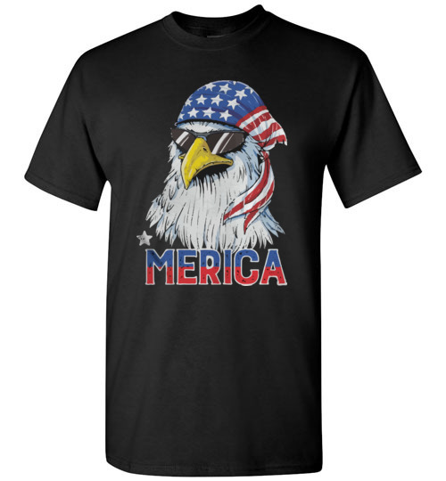 $18.95 – 4th of July Eagle mullet Merica T-Shirt