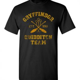 $18.95 - Funny Harry Potter Shirts: Gryffindor Quidditch Team T-Shirt
