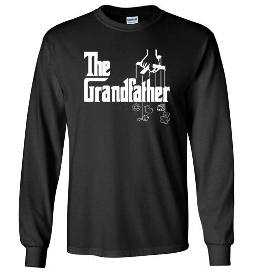 $23.95 - The Grandfather funny Godfather Mafia style Long Sleeve