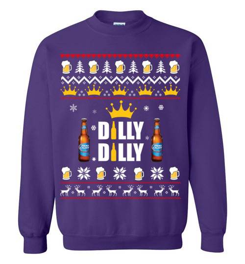 bud light christmas shirts dilly dilly ugly t shirt hoodie ugly christmas sweater