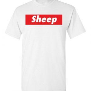 $18.95 - Funny Supreme Shirts: Sheep (iDubbbz Merch iDubbbztv) T-Shirt