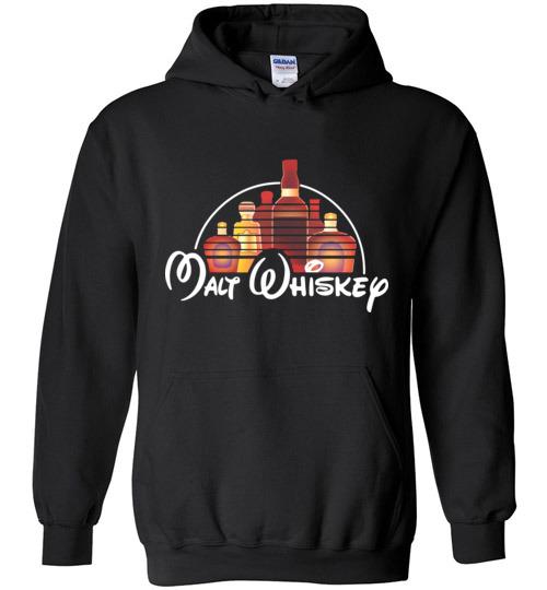 $32.95 - Malt Whiskey funny Walt Disney Shirts for wine drinker Hoodie