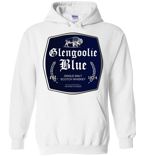 $32.95 - Funny Glengoolie Blue Shirts for wine drinker Hoodie