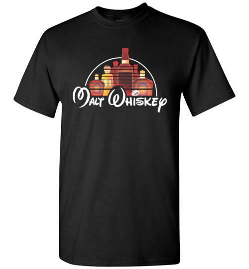 9934ef0c $18.95 – Malt Whiskey funny Walt Disney Shirts for wine drinker T-Shirt