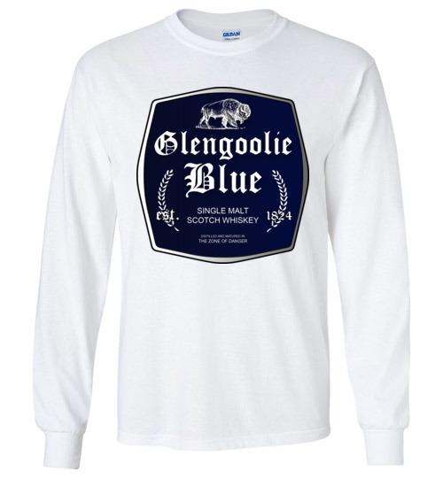 $23.95 - Funny Glengoolie Blue Shirts for wine drinker Long sleeve