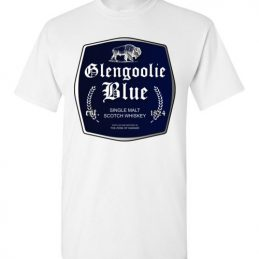 $18.95 - Funny Glengoolie Blue Shirts for wine drinker T-Shirt