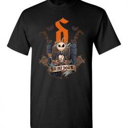 $18.95 - Funny Halloween shirts - Jack Skellington Shinedown T-Shirt