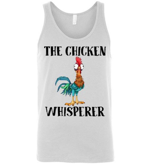 $24.95 - The chicken whisperer - Hei Hei the Rooster (Moana) funny Unisex Tank