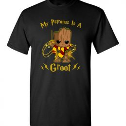 $18.95 - Marvel Groot - Harry Potter shirts: My patronus is a Groot T-Shirt