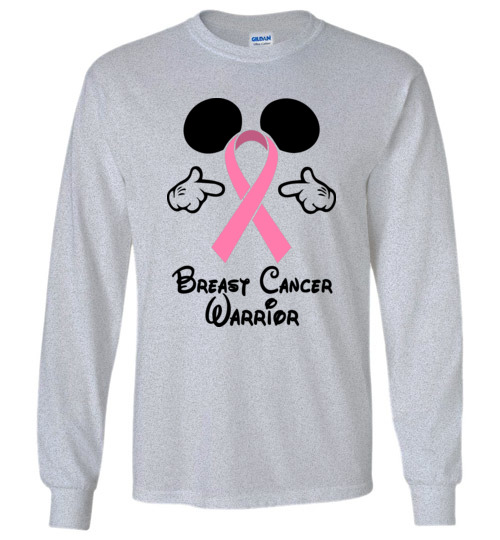 breast cancer warrior walt disney funny t shirt hoodie ugly christmas sweater