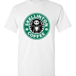 $18.95 - Jack Skellinton Coffee funny T-Shirt