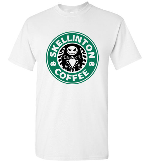 $18.95 - Jack Skellinton Coffee funny T-Shirt
