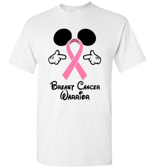 b59a40297 Breast Cancer warrior - Walt Disney Funny T-Shirt, Hoodie, Ugly ...