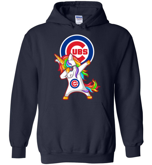 Funny Chicago Cubs Shirts Unicorn Dabbing T Shirt Hoodie Ugly