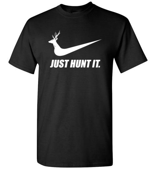 750f8db9 Just hunt it: funny Nike hunter T-Shirt, Hoodie, Ugly Christmas Sweater