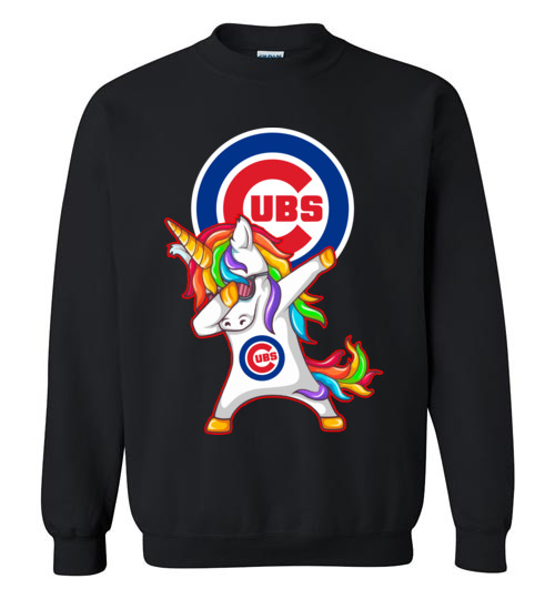 timeless design f5827 7def9 Funny Chicago Cubs Shirts: Unicorn Dabbing