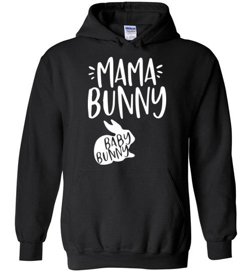 $32.95 - Funny Easter Shirts: Mama bunny baby bunny Hoodie