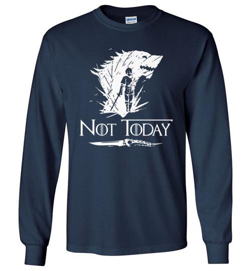 T-shirt Not Today Dagger Women/'s Black